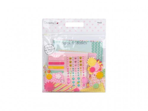 Dovecraft Back To Basics Goody Bag  Floral Brights