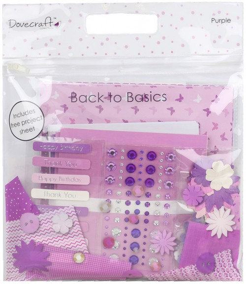 Dovecraft Back To Basics Goody Bag  Purple