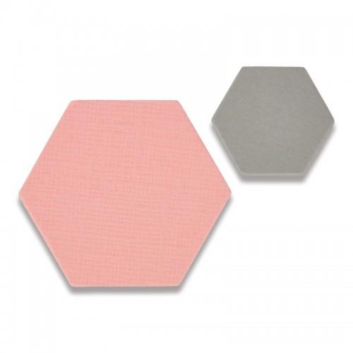 -50% Framelits Die Set 2PK Small Hexagons