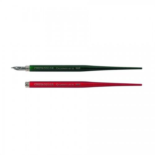 Ink Pen, With Nib Red  Cretacolor