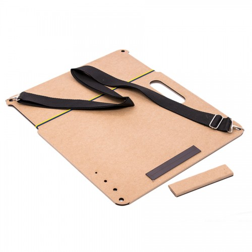 Sketch-Board with magnetic clip А2 (53x63 cm) with strap, MDF