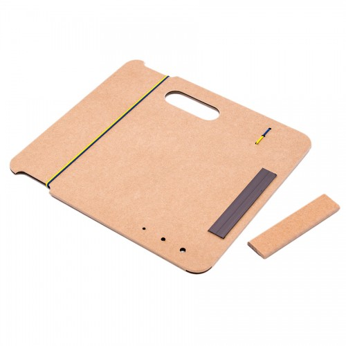 Sketch-Board with magnetic clip А4 (33*36cm),MDF