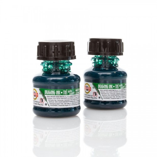 Indian Ink, Green  20 Ml Koh-I-Noor