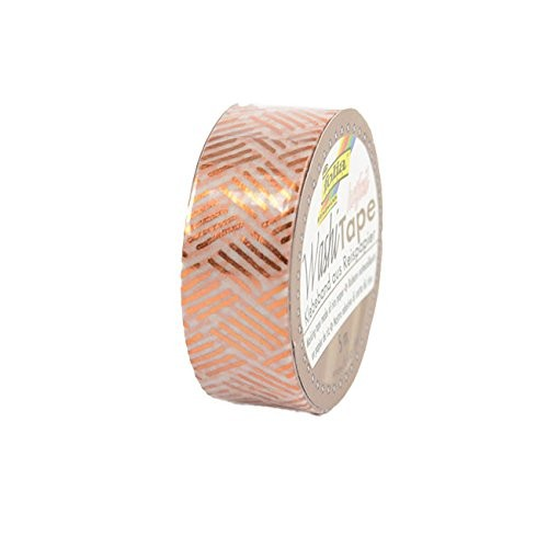 Washi-Tape, 15mmx5m HOTFOIL COPPER hatching