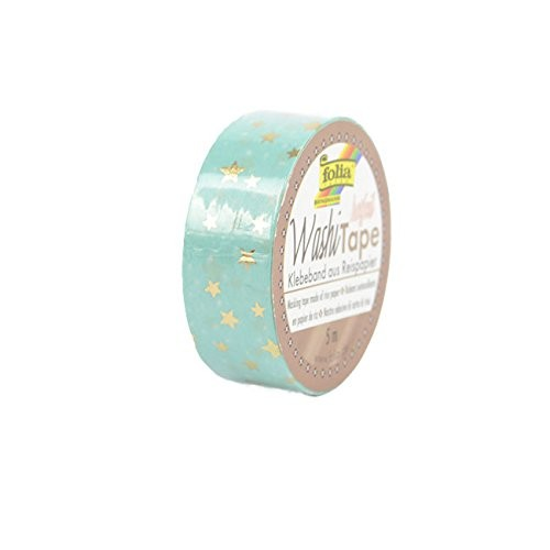 Washi-Tape, 15mmx5m HOTFOIL GOLD stars