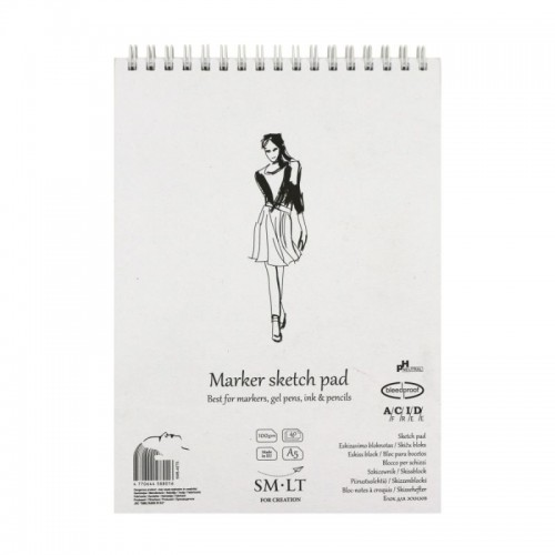 Sketch pads Authentic Marker.