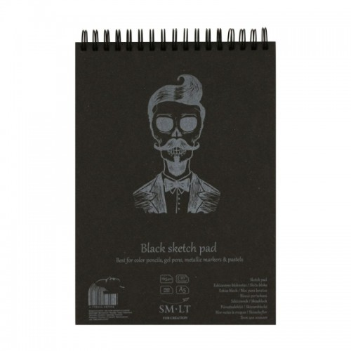 Sketch pads Authentic Black.A5