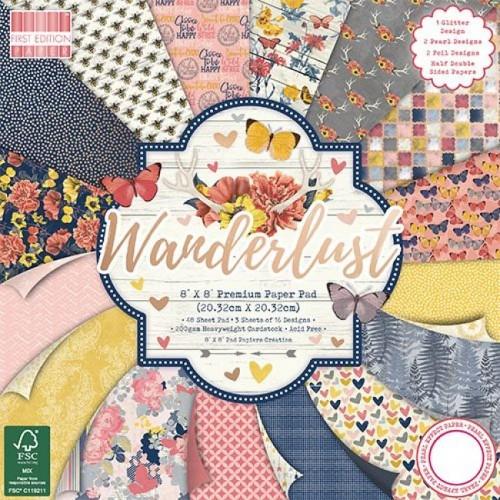 First Edition FSC 8x8 Wanderlust Paper Pad