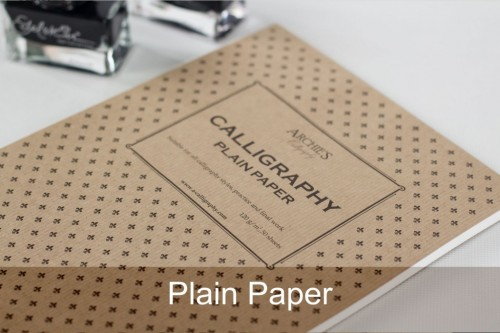Plain Calligraphy – A4 Paper Pad