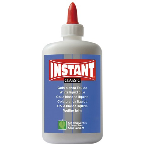 Instant white liquid glue flat bottle Eco  100g