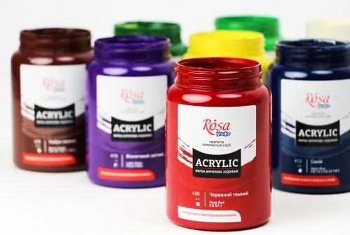 Acrylic paints  400 ml, ROSA Studio