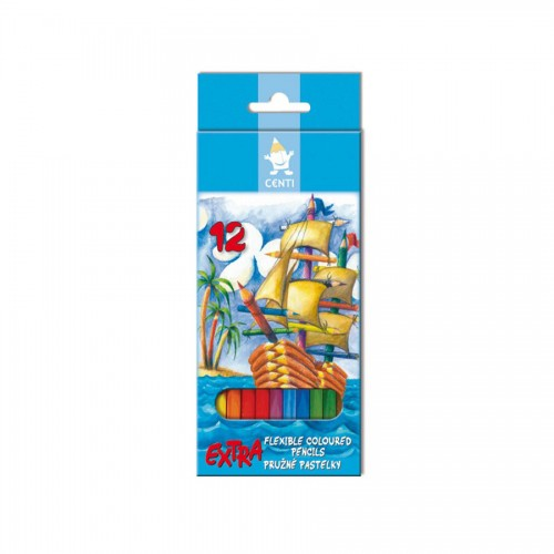 set of plastic coloured pencils 2162 12