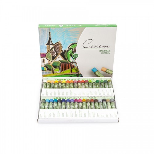 "Sets Of Oil Pastels ""Sonet"", 36Pcs"
