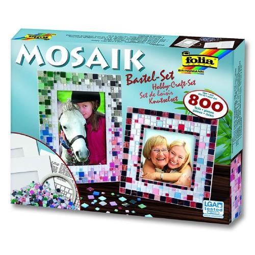 Mosaic-Kit Set  800 parts, Folia
