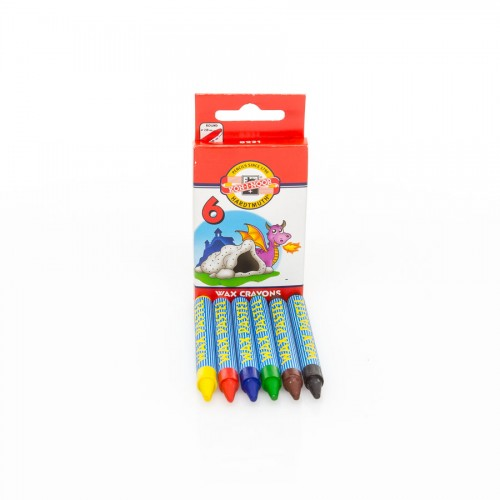 Set Of Wax Pastels 6Pcs