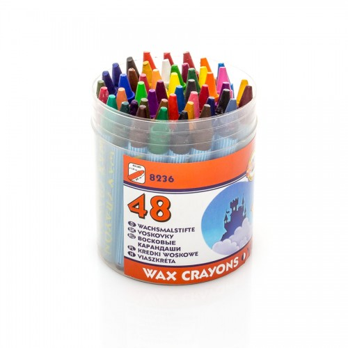 Set Of Wax Pastels 48Pcs