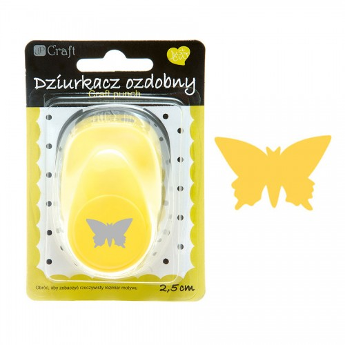 Craft punch 2,5 cm, Butterfly