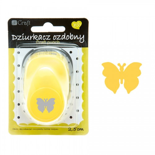 Craft punch 2,5 cm, Butterfly 1