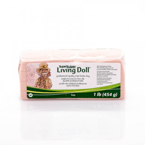 Clay Sculpey Living Doll 454 g