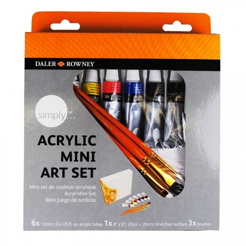 Simply Acrylic Mini Set Daler-Rowney