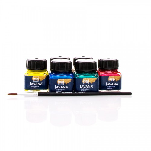 Javana Tex Textile Colors Metallic  Set 6X20Ml