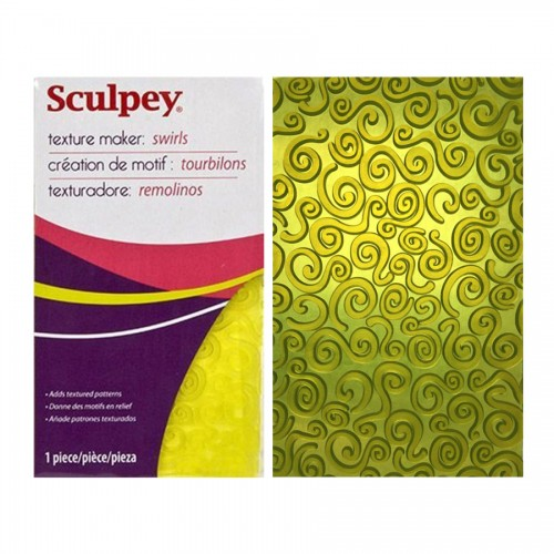 """Sculpey Texture Maker """"Swirls"""""""