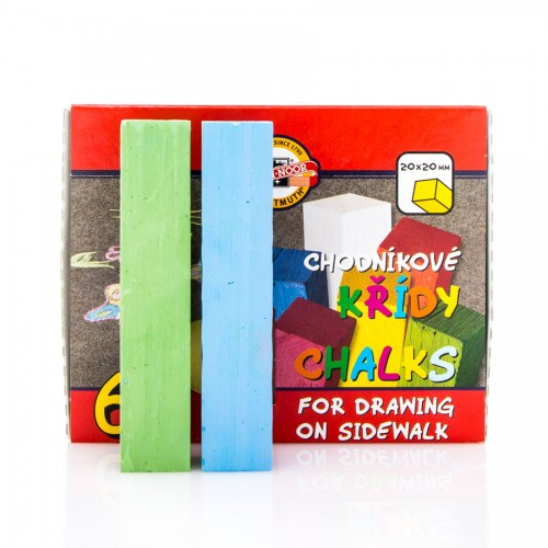 Set Of Colour Chalk  6Pcs