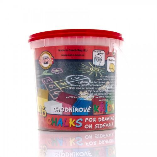 Set Of Colour Chalk 16Pcs