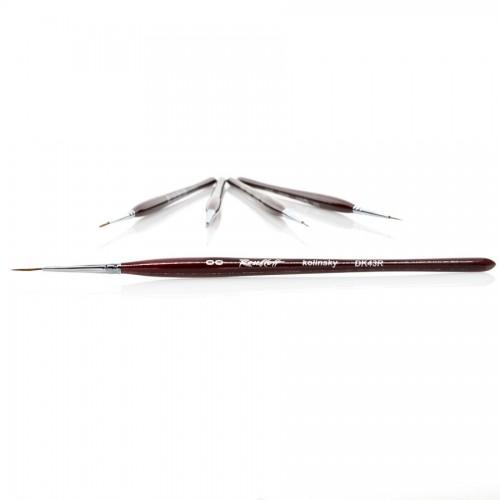 Kolinsky Striper Brush DK43R, Roubloff