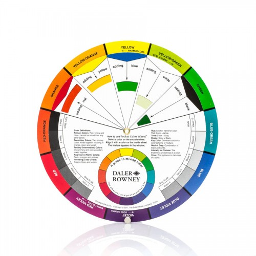 Colour Wheel, Daler Rowney