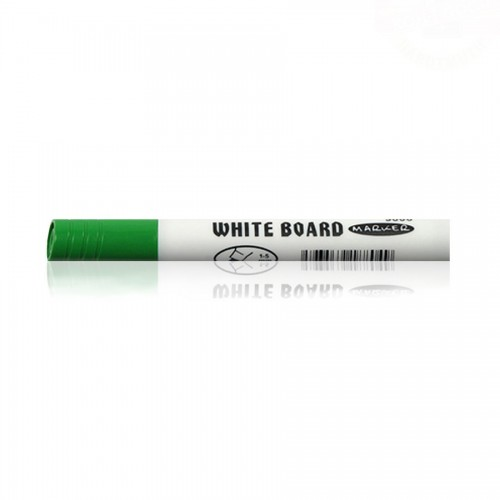 WHITE BOARD MARKER 9005 ROUND GREEN