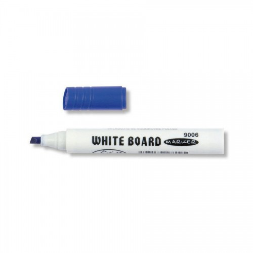 WHITE BOARD MARKER 9006 CHISEL BLUE