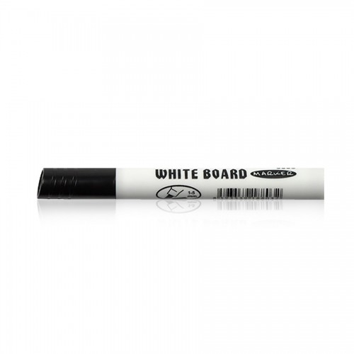 WHITE BOARD MARKER 9006 CHISEL BLACK