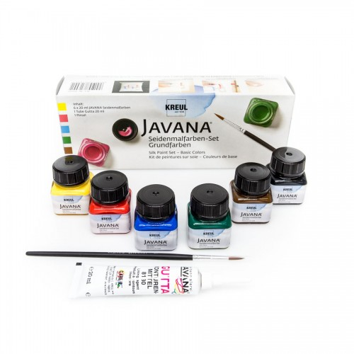 Javana Silk Color Set 6X20Ml C.Kreul