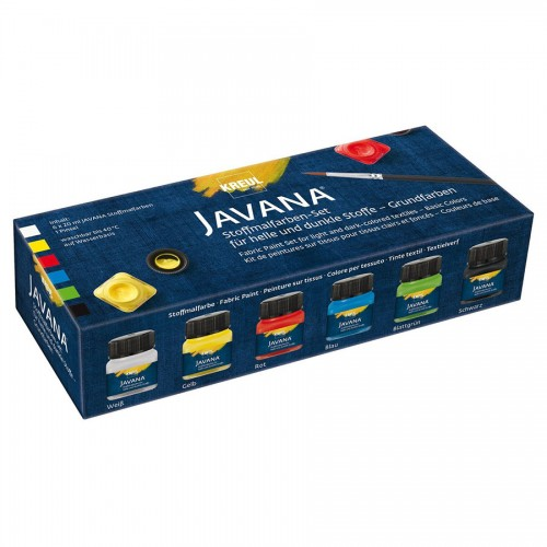 Javana Tex Textile Colors Opake Set 6X20Ml