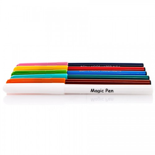 Set Of Fibre Pens Magic 5+1