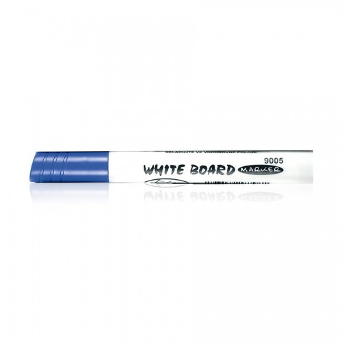 white board marker 9005 round blue