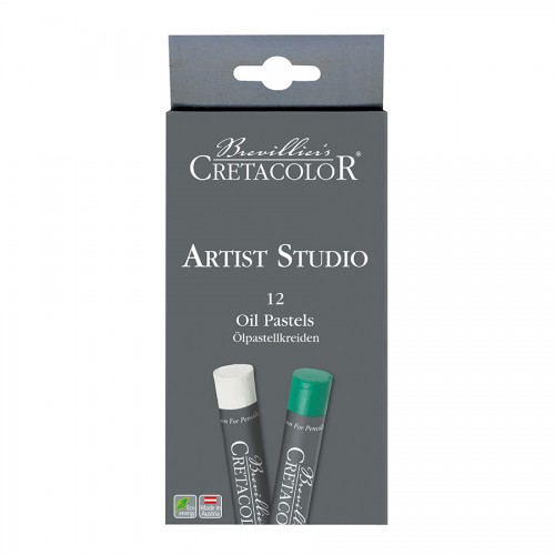 Set Of Oil Chalks 12Tpcs, Cretacolor