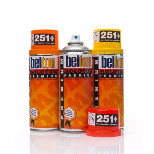 Spray Paint - Premium Transparent 400ml MOLOTOW