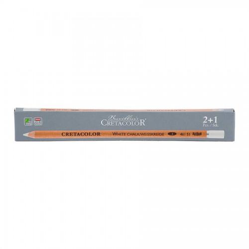 Chalk White Pencil, Medium, Cretacolor