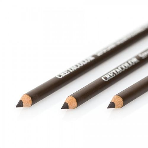 Sepia Dark, Oil Pencil, Cretacolor
