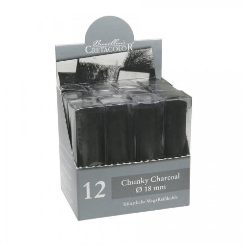 Charcoal Maxi  D=18Mm , L=80Mm Cretacolor