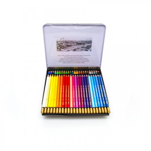 "Set Of Aquarel Col-Pencils ""Mondeluz"" 48 Pcs"