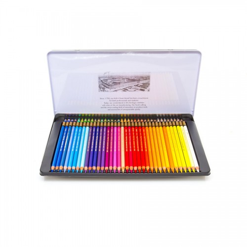 "Set Of Aquarel Col-Pencils ""Mondeluz"" 72 Pcs"