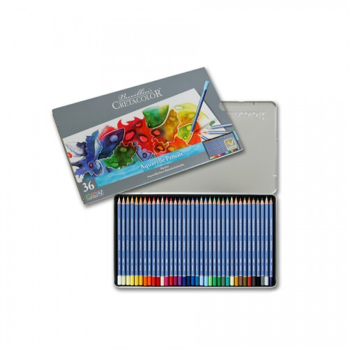 "Aquarell Col-Pencil Set  ""Marino"" 36 Pcs Cretacolo"