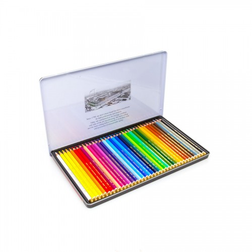 "Set Of Artist Colored Pencils ""Polycolor"" 36Pcs"