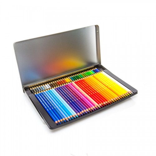 "Set Of Artist Colored Pencils ""Polycolor"" 72Pcs"