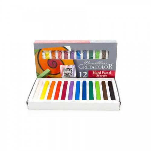 Set Of D Art Chalks  Starter 12Tpcs,  Cretacolor