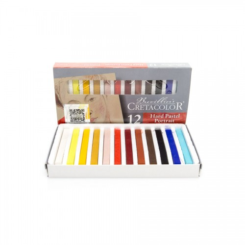 Set Of D Art Chalks  Portrait 12Tpcs, Cretacolor