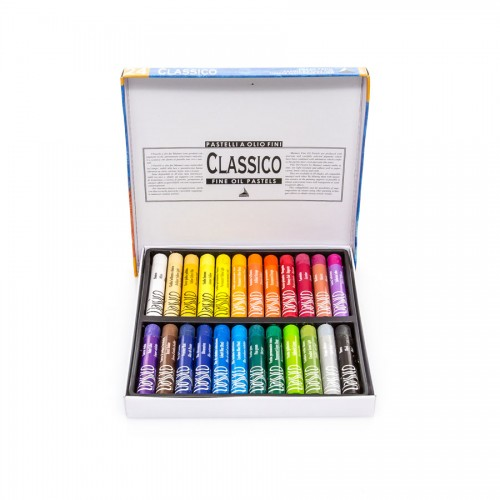 Sets Of Oil Pastels Maimeri , 24 Pcs